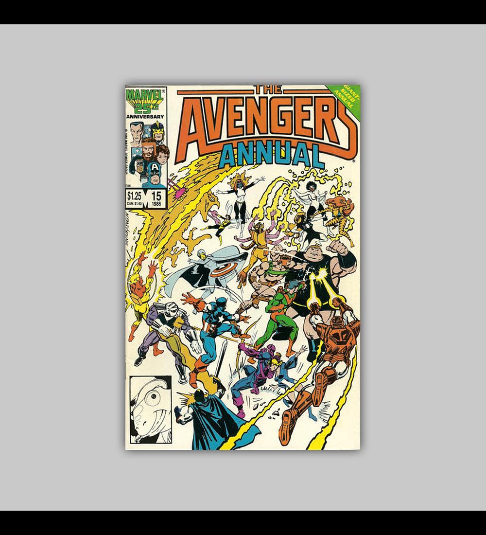 Avengers Annual 15 1986