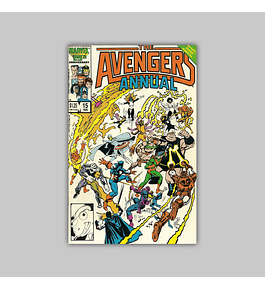Avengers Annual 15 1986