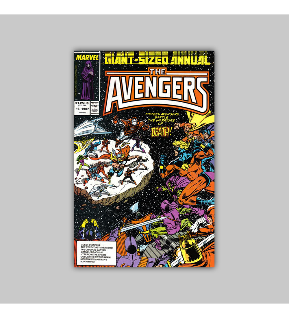 Avengers Annual 16 1987