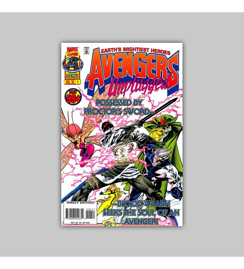 Avengers Unplugged  6 1996