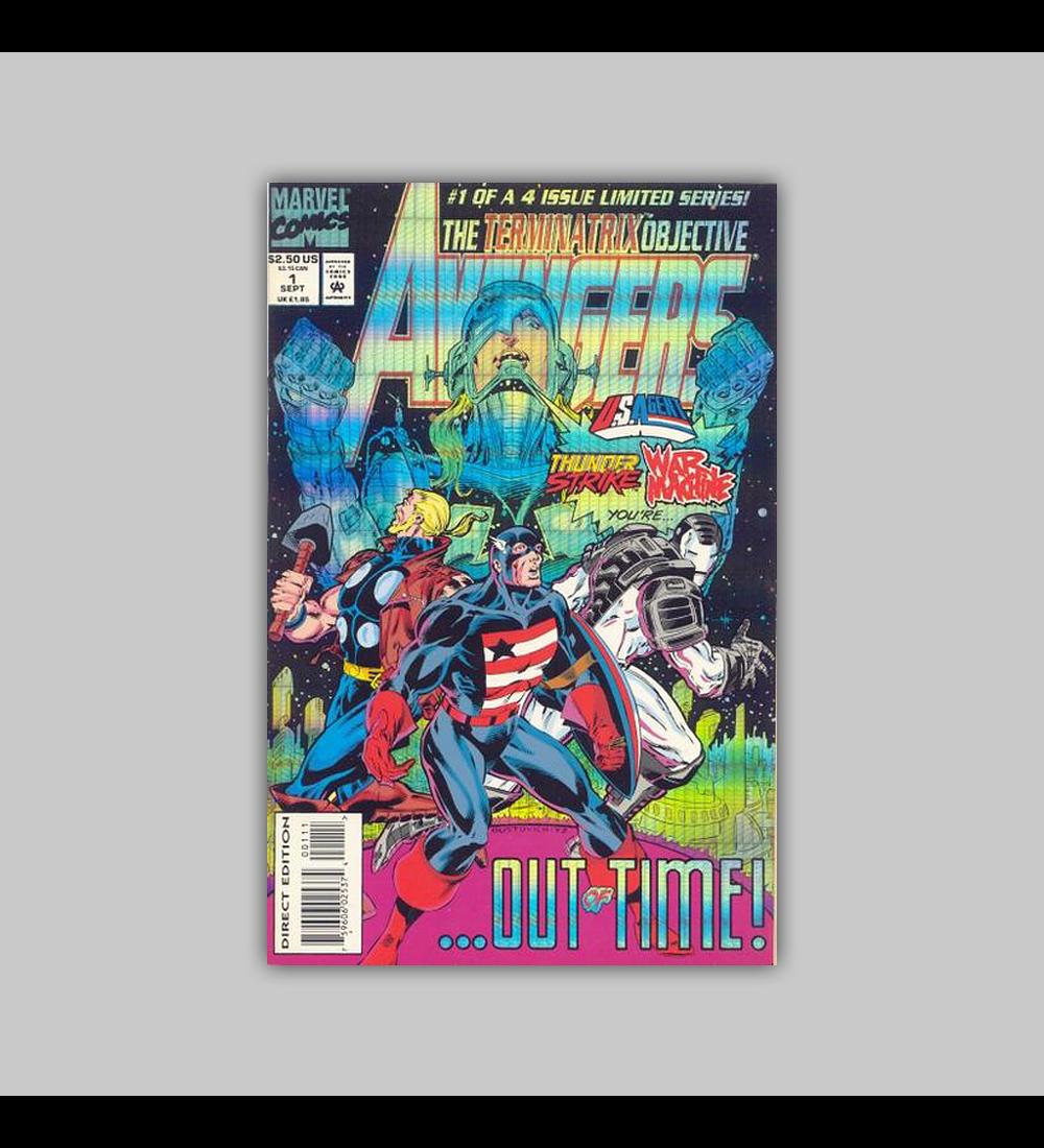 Avengers: The Terminatrix Objective  1 Foil 1993