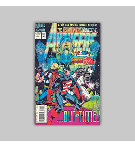 Avengers: The Terminatrix Objective  1 Foil 1993