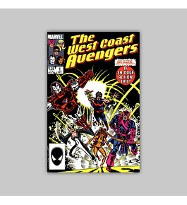 West Coast Avengers (Vol. 2) 1 1985