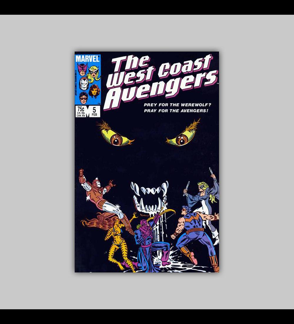 West Coast Avengers (Vol. 2) 5 1986
