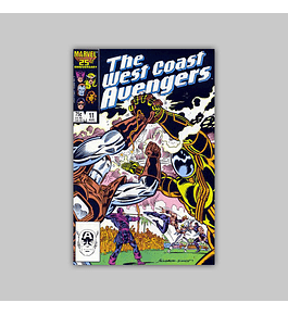West Coast Avengers (Vol. 2) 11 1986