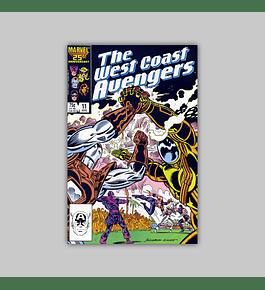 West Coast Avengers (Vol. 2) 11 1986