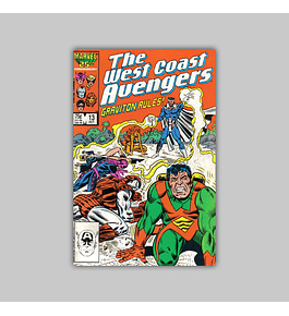 West Coast Avengers (Vol. 2) 13 1986