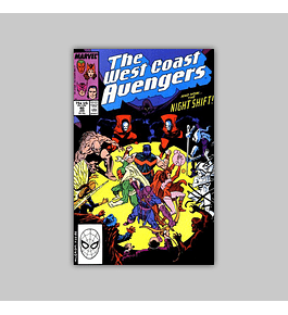 West Coast Avengers (Vol. 2) 40 1989
