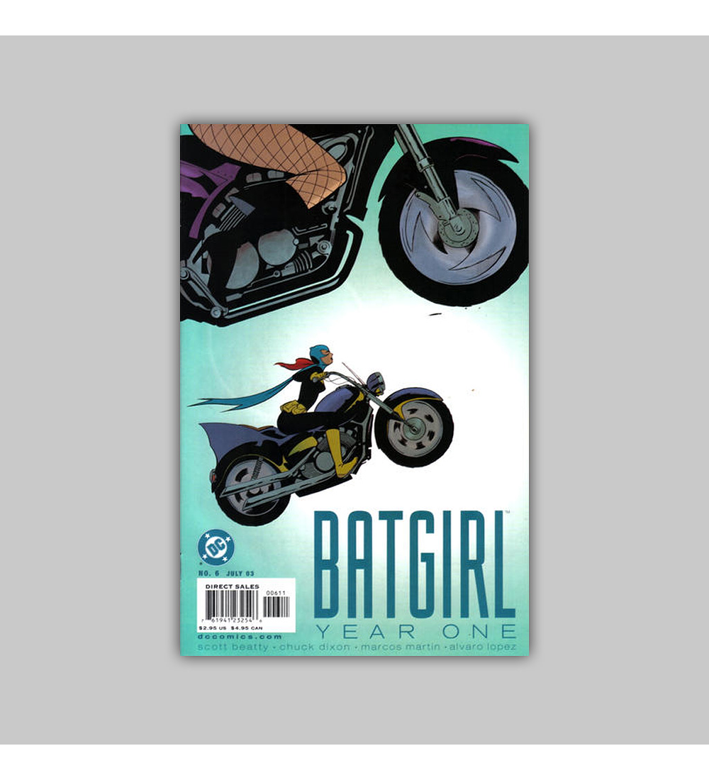 Batgirl: Year One 6 2003