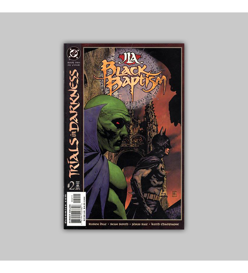 JLA: Black Baptism (complete limited series) 2001