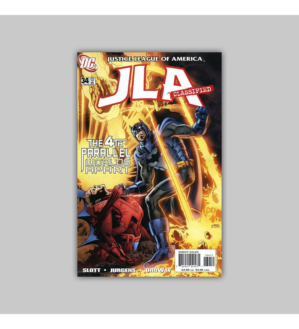 JLA: Classified 34 2007