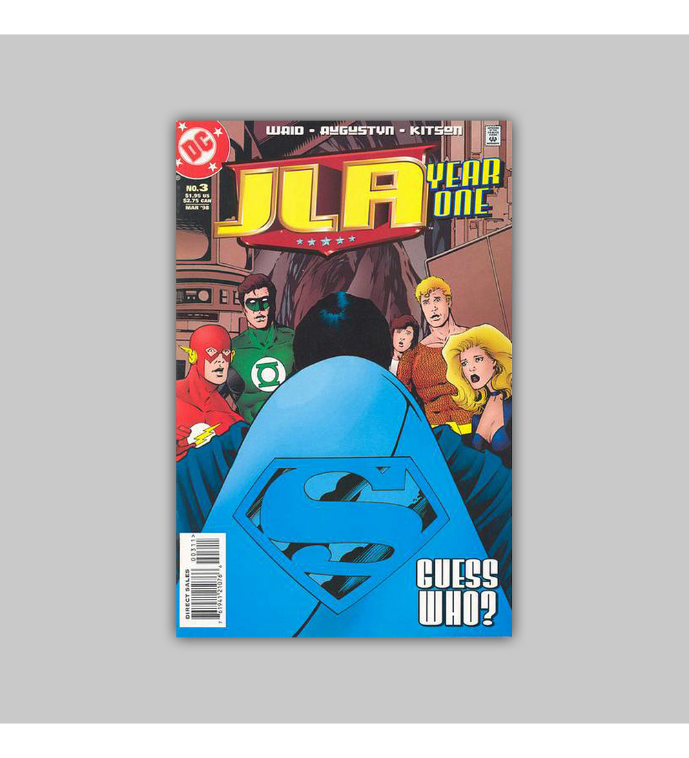 JLA: Year One (complete limited series) 1998