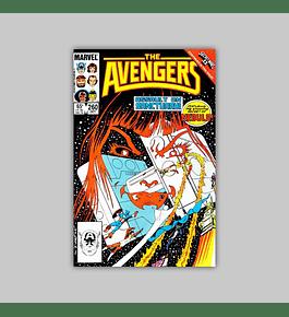 Avengers 260 1985