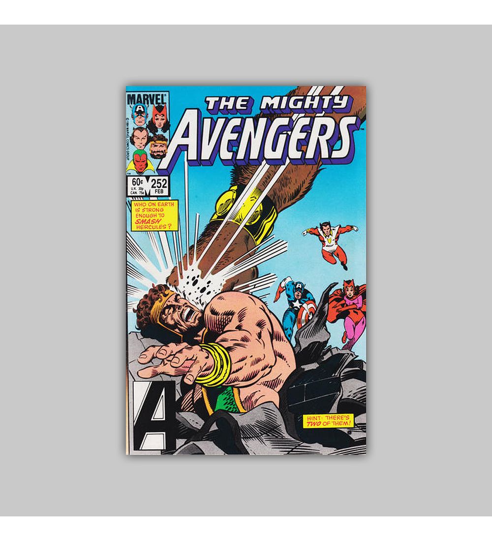 Avengers 252 1985