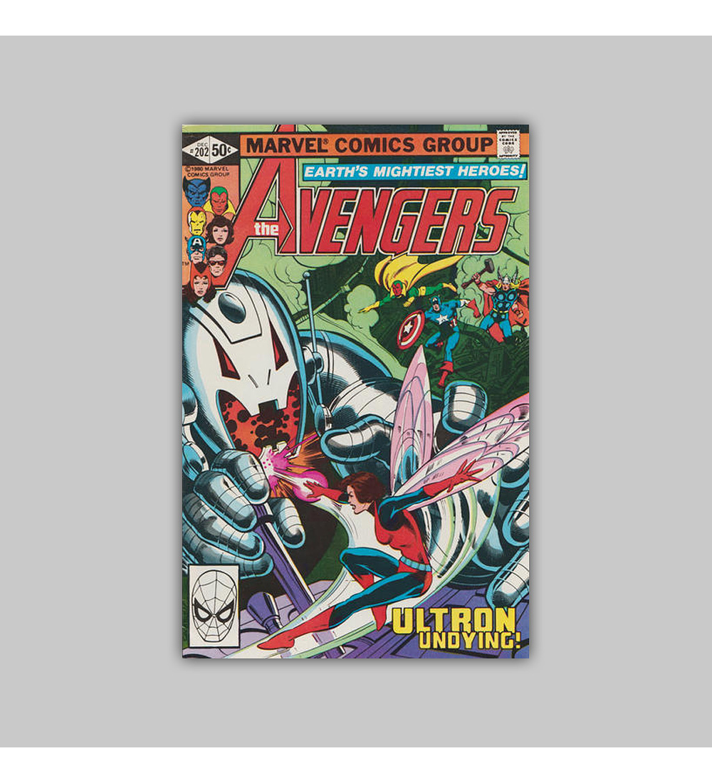 Avengers 202 1980