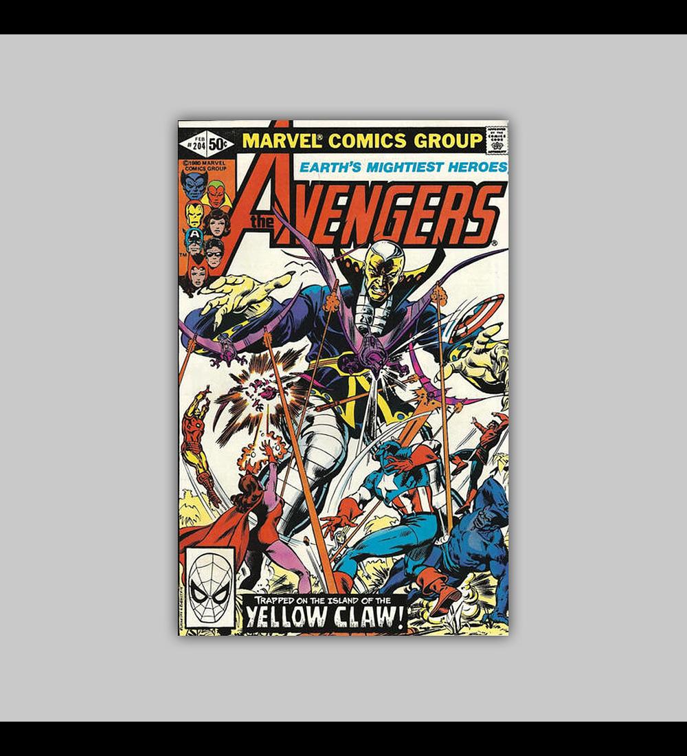 Avengers 204 1981