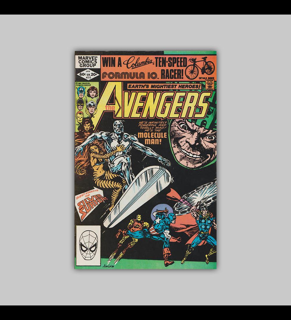 Avengers 215 1982