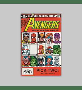 Avengers 221 1982