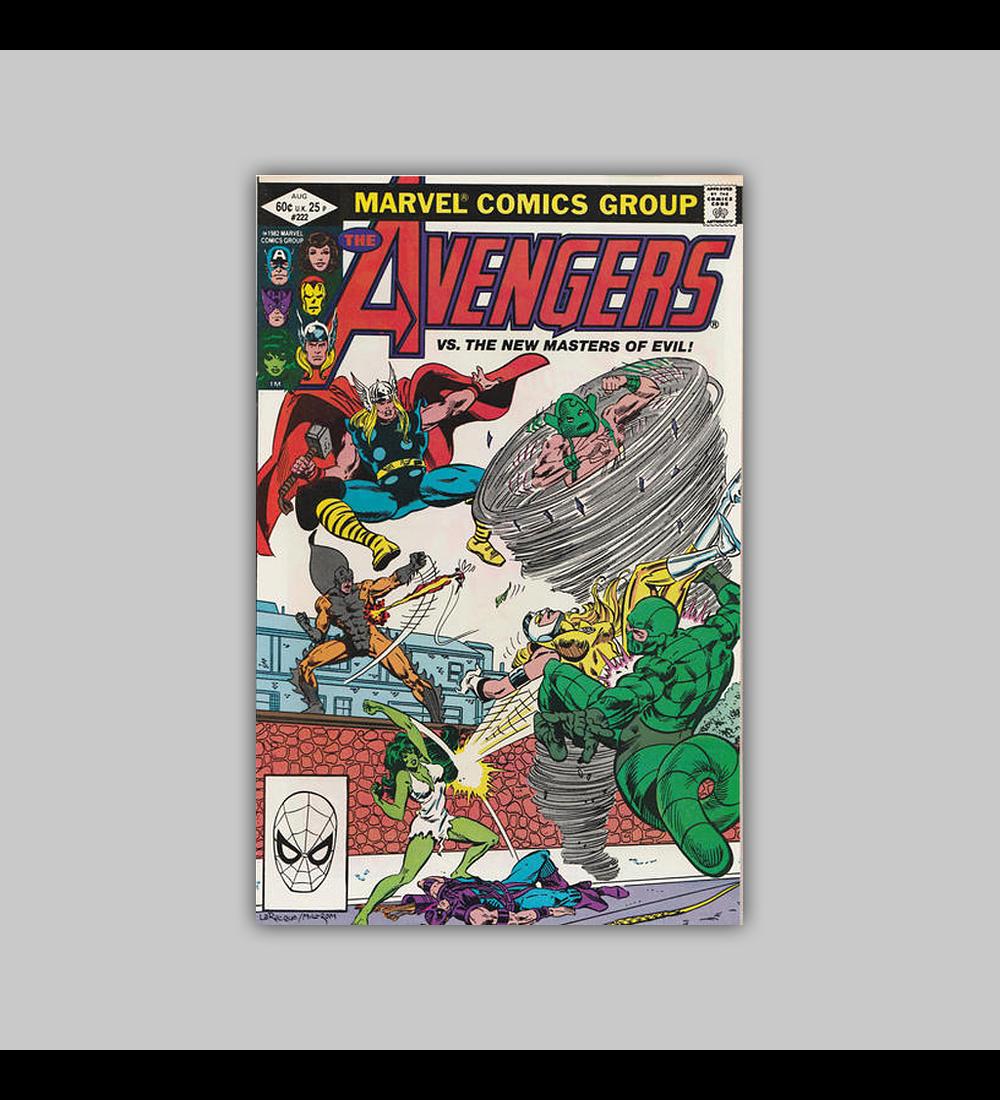 Avengers 222 1982