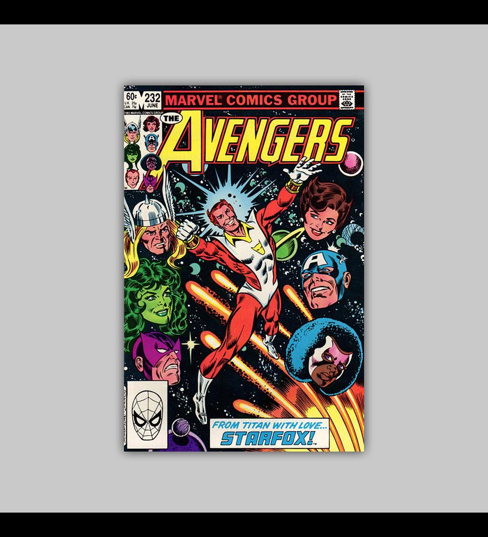 Avengers 232 1983