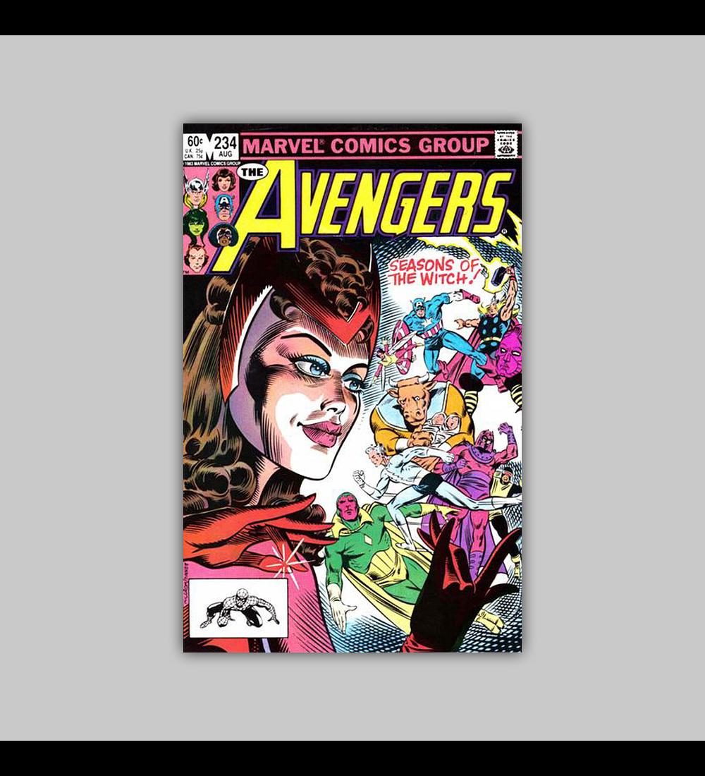 Avengers 234 1983