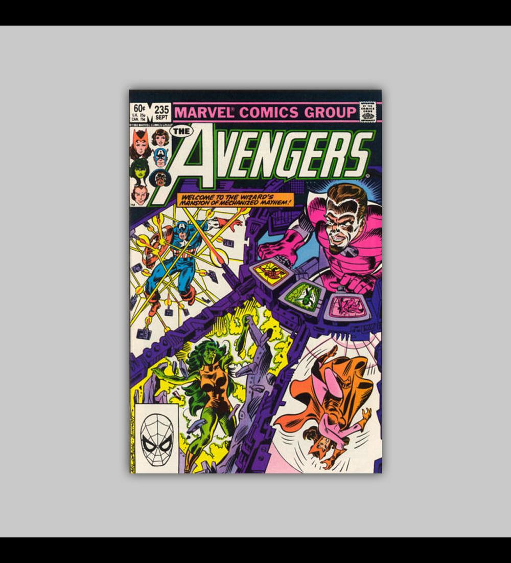 Avengers 235 1983