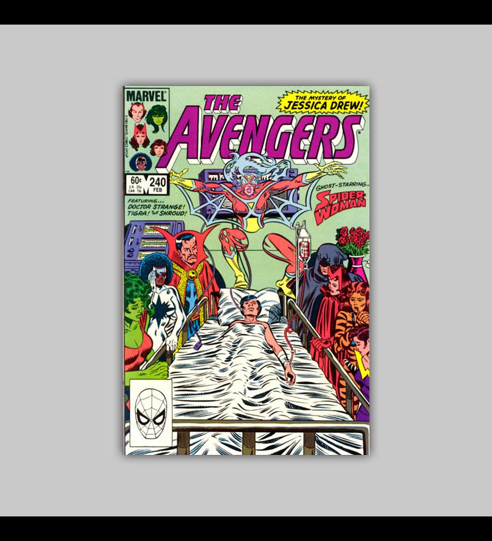 Avengers 240 1985