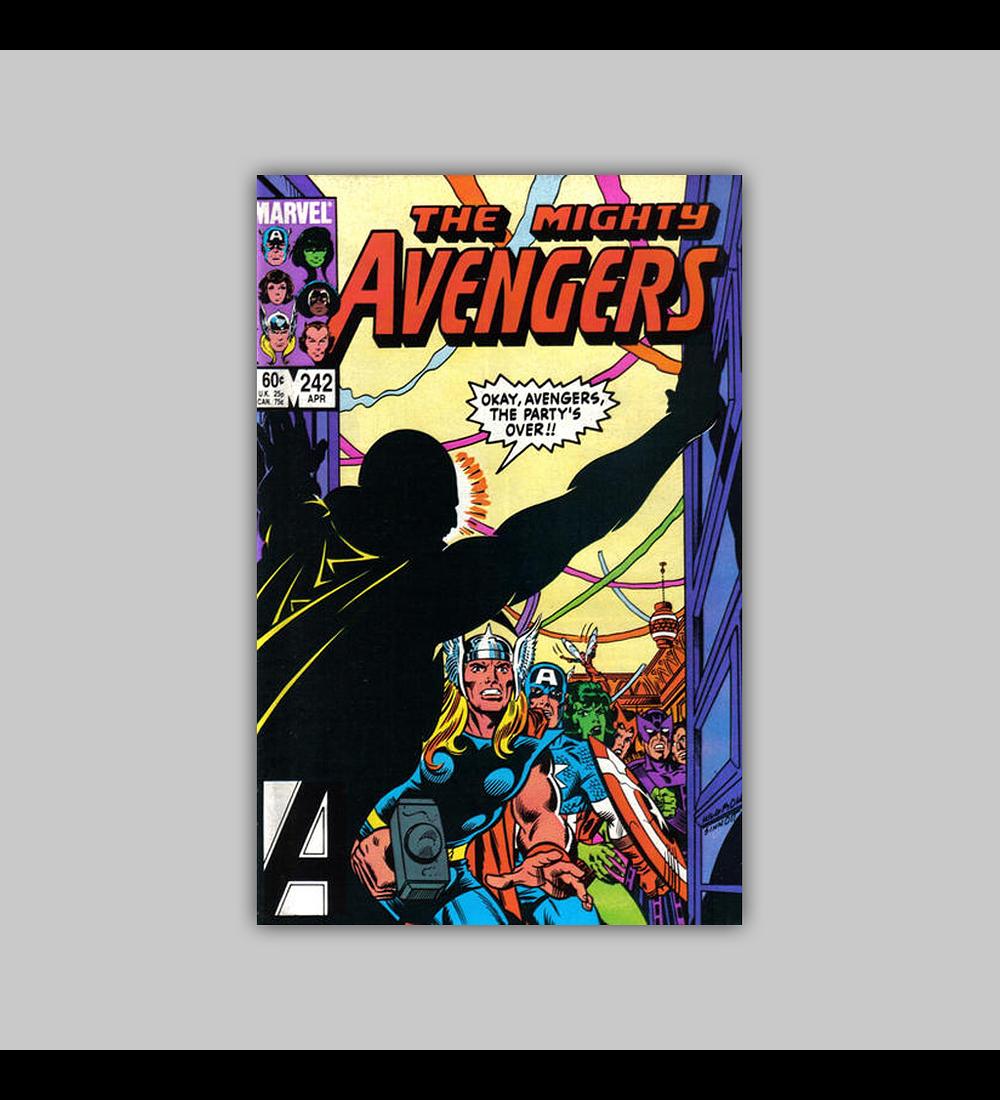 Avengers 242 1985