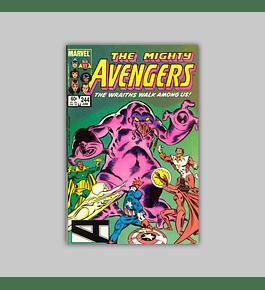 Avengers 244 1985
