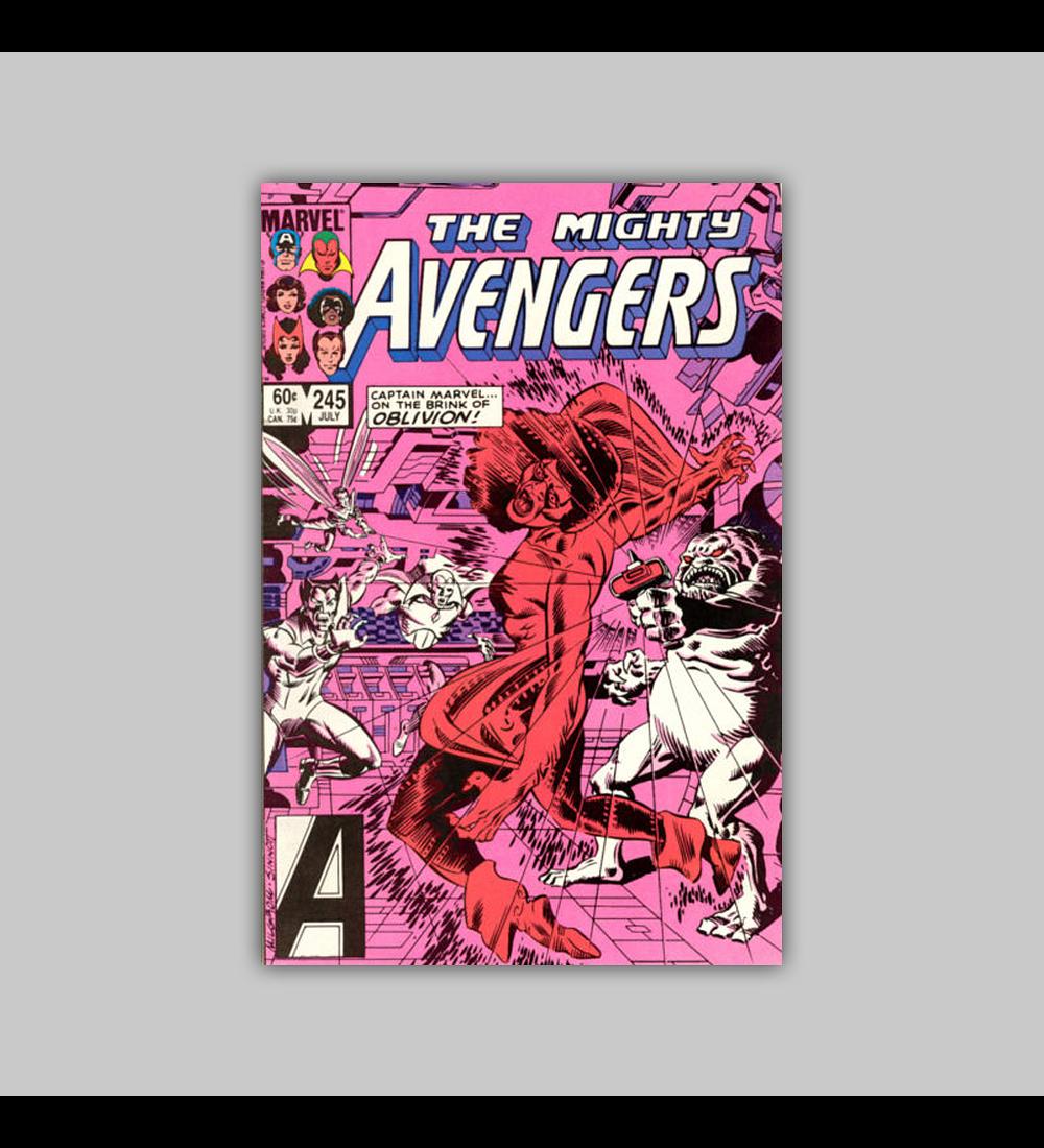 Avengers 245 1985