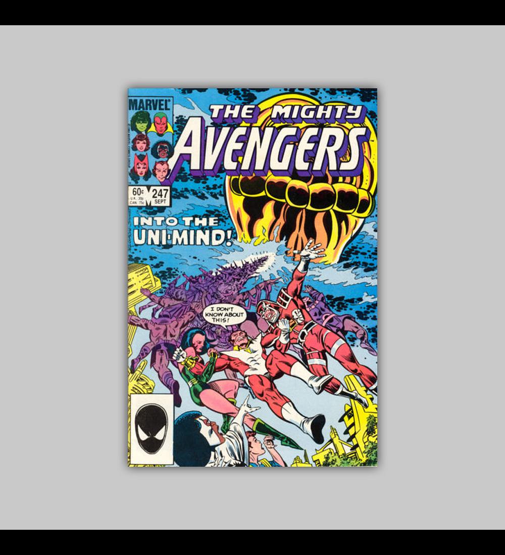 Avengers 247 1985