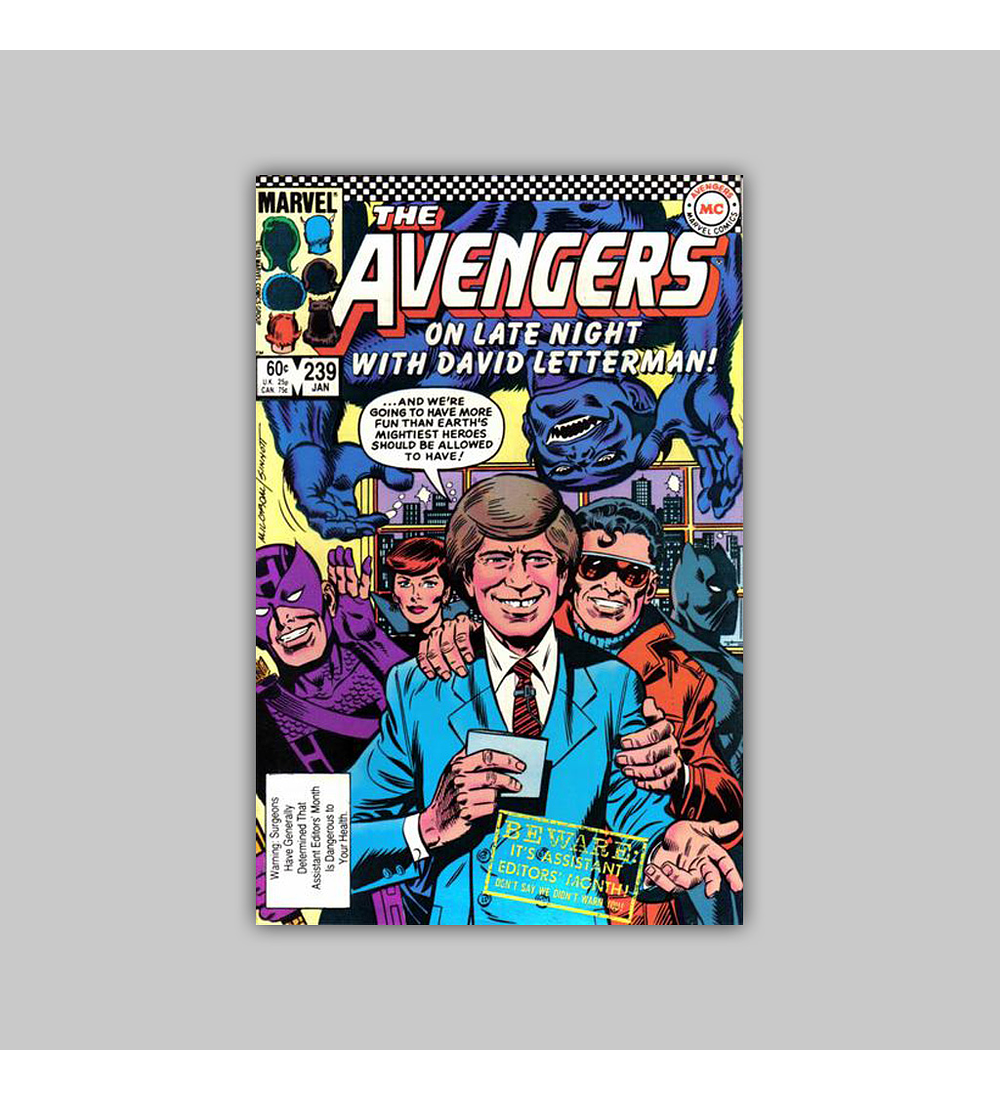 Avengers 239 1984