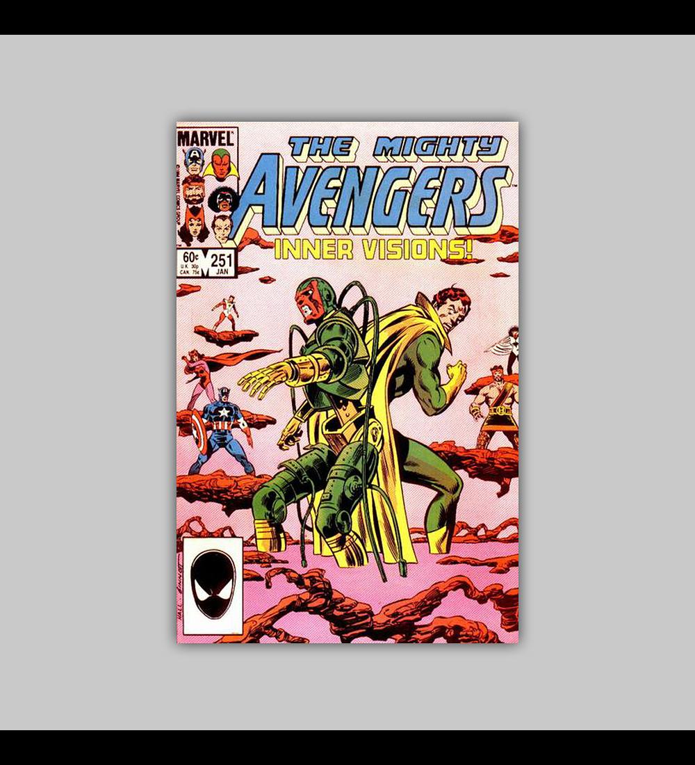 Avengers 251 1985