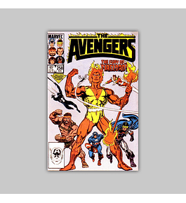 Avengers 258 1985