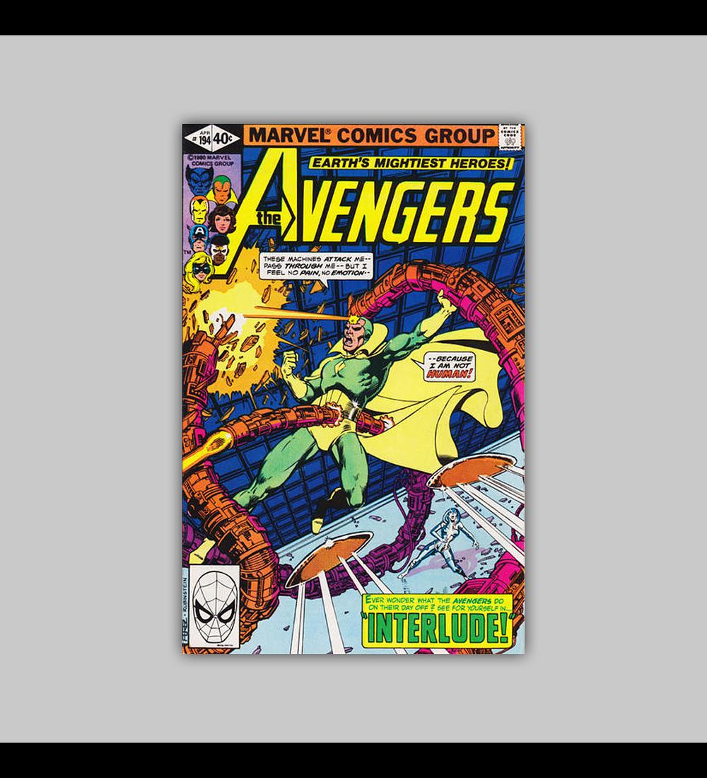Avengers 194 1980