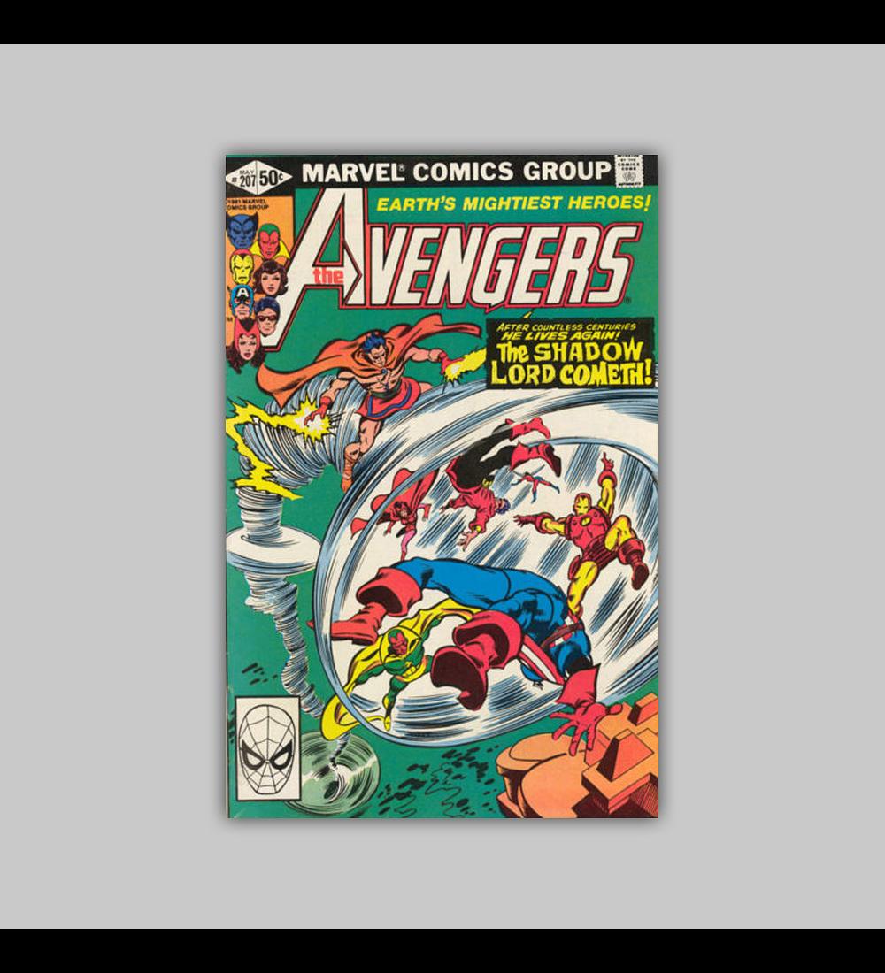 Avengers 207 1981