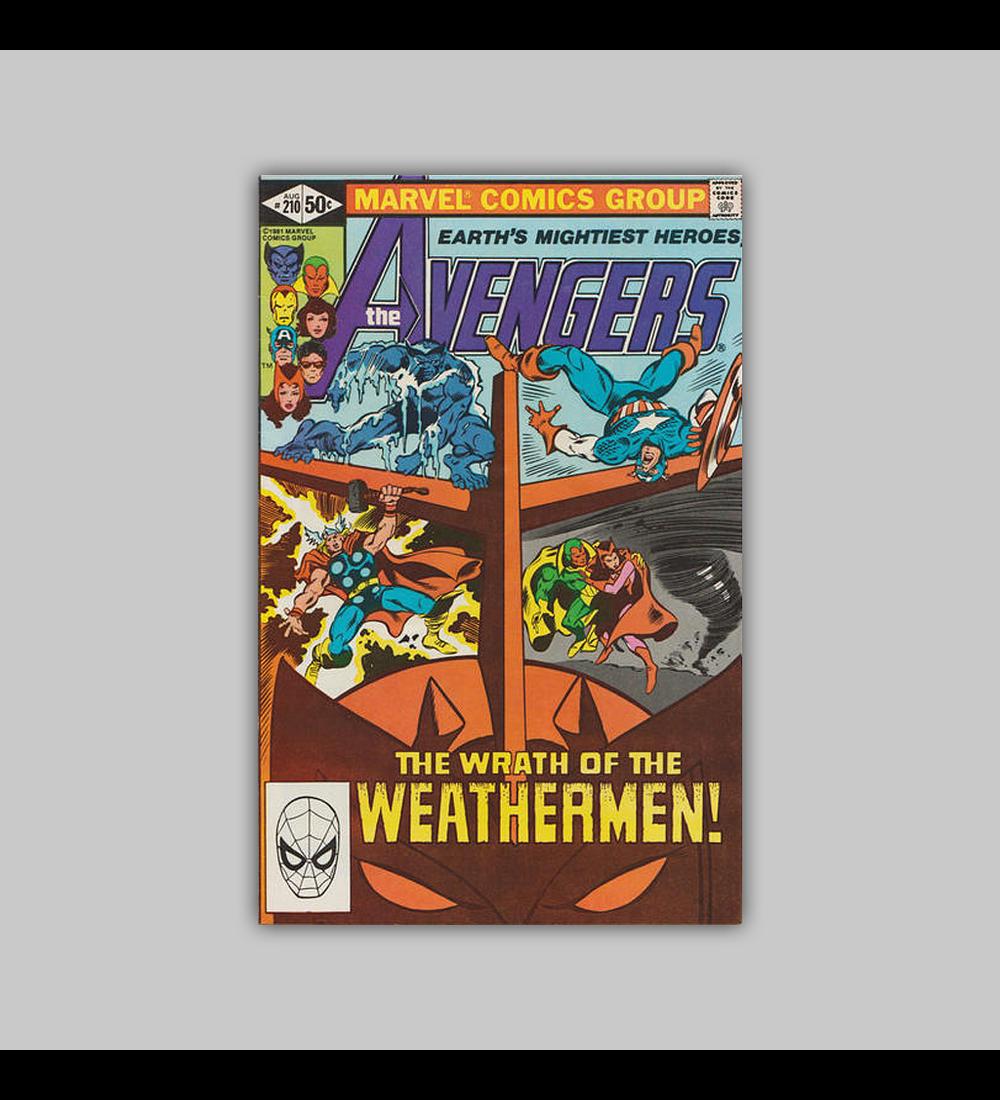 Avengers 210 1981