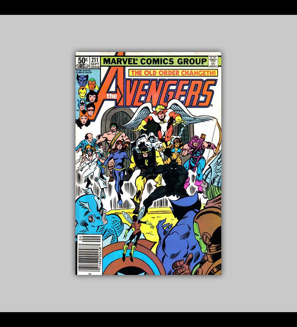 Avengers 211 1981