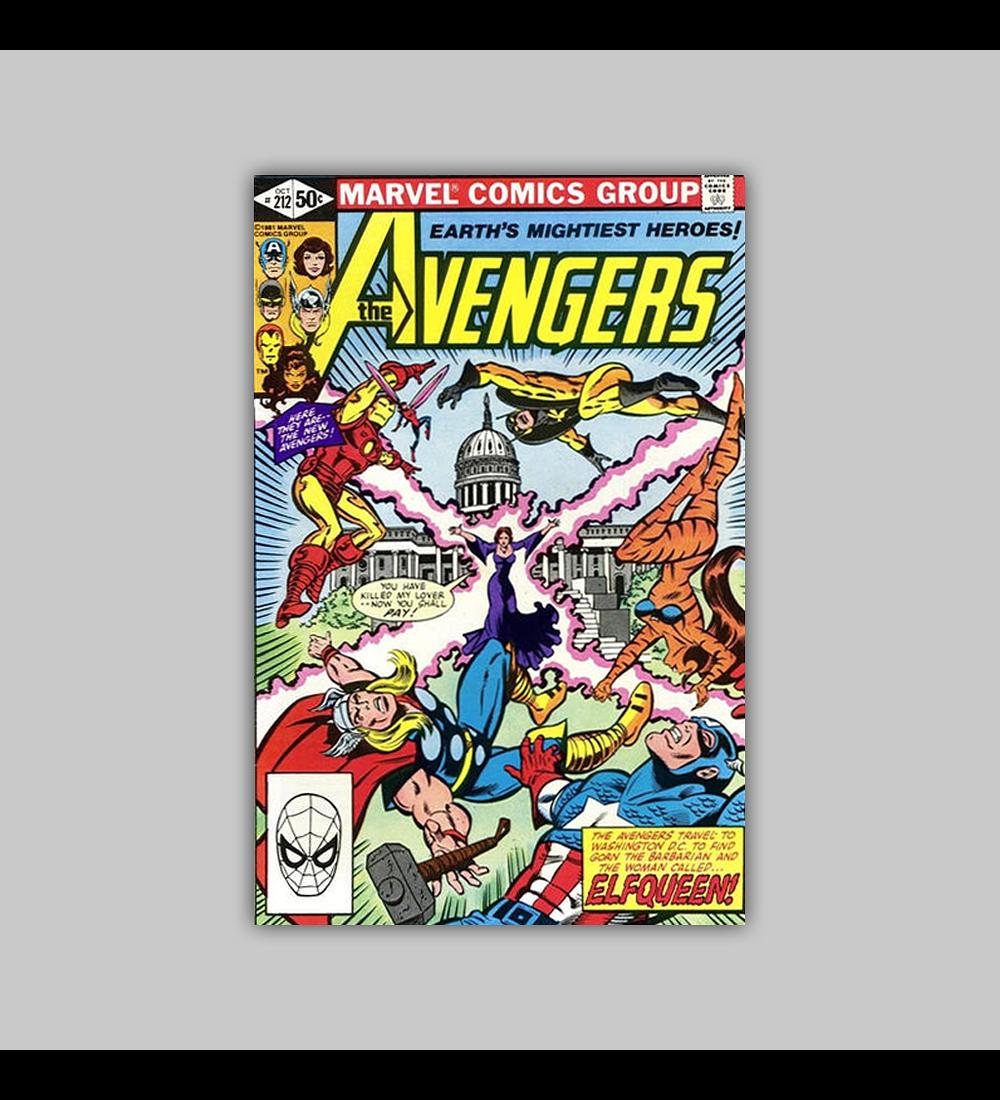 Avengers 212 1981