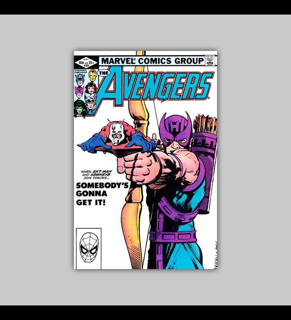 Avengers 223 1982