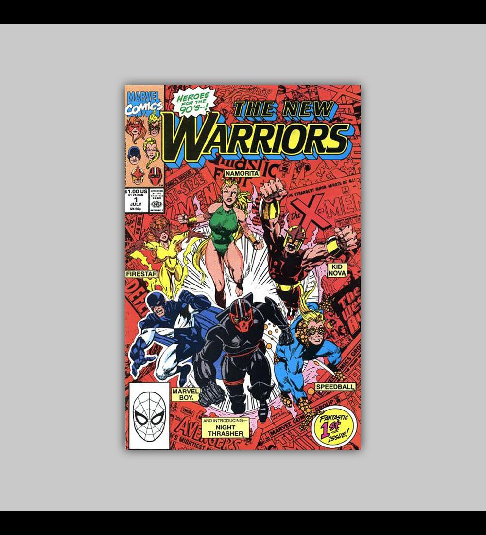New Warriors 1 VF/NM (9.0) 1990