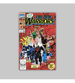 New Warriors 1 VF/NM (9.0) 1990