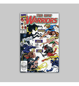 New Warriors 4 VF/NM (9.0) 1990