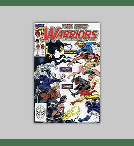 New Warriors 4 VF/NM (9.0) 1990