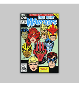 New Warriors 25 Die-Cut 1992