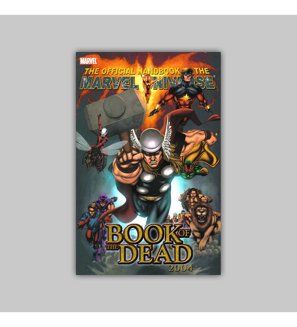 Official Handbook of the Marvel Universe: Book of the Dead 2004