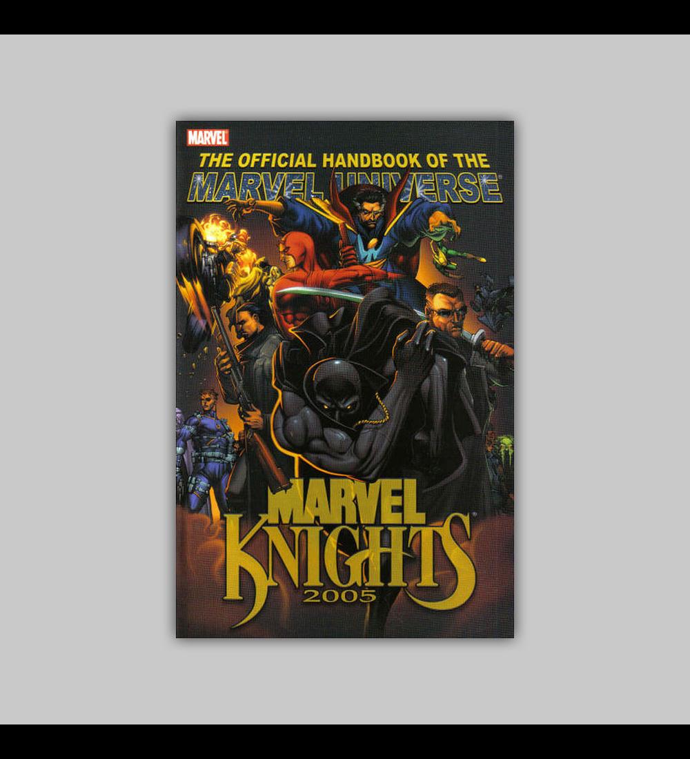 Official Handbook of the Marvel Universe: Marvel Knights 2005