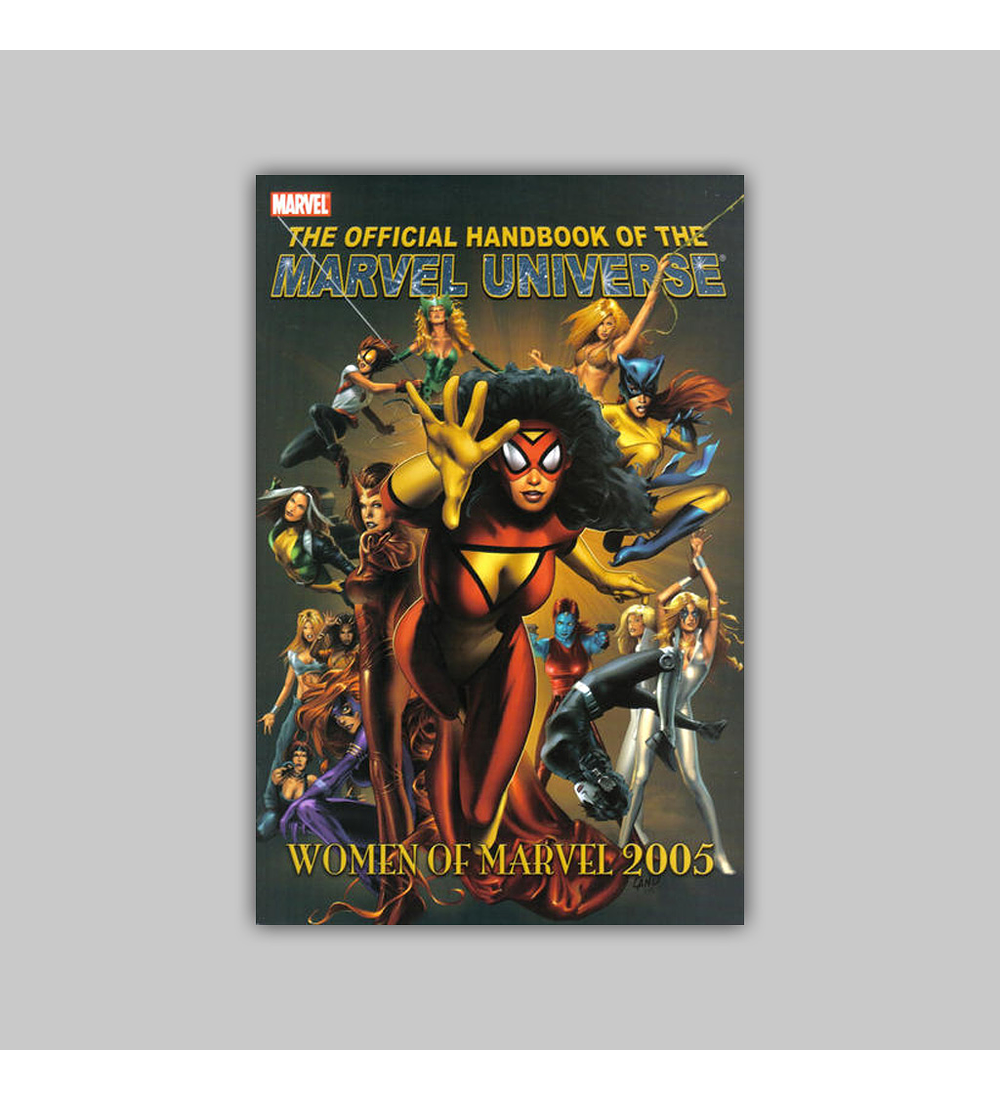 Official Handbook of the Marvel Universe: The Women of Marvel 2005