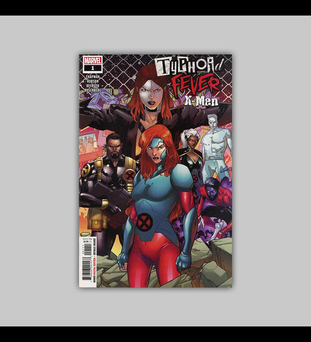 Typhoid Fever: X-Men 1 2019