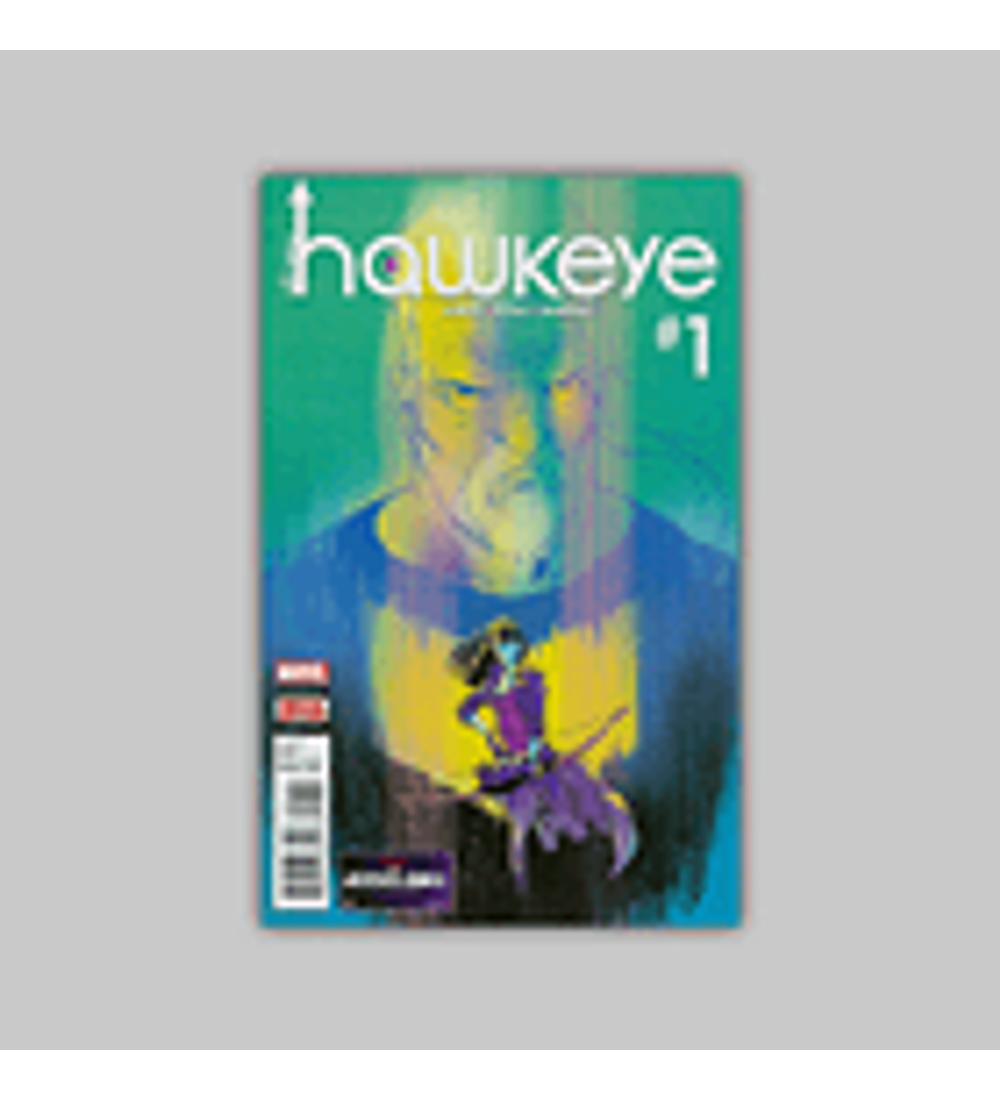 All New Hawkeye (Vol. 2) 1 2016